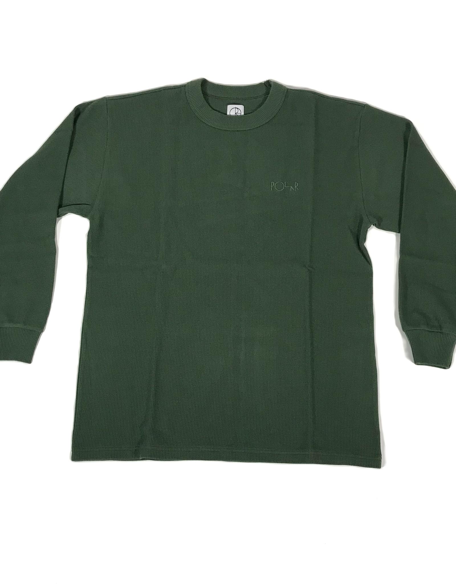 POLAR SHIN L/S THERMAL TEE - HUNTER GREEN