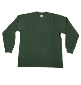 POLAR SHIN L/S THERMAL TEE - HUNTER GREEN