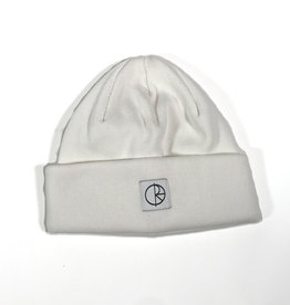 POLAR DOUBLE FOLD COTTON BEANIE - IVORY