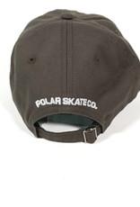 POLAR STROKE LOGO CAP HAT - OLIVE