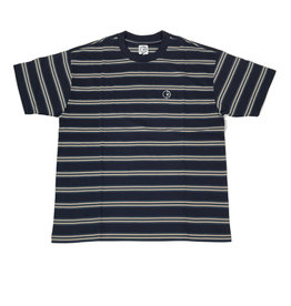POLAR STRIPE S/S TEE - NAVY