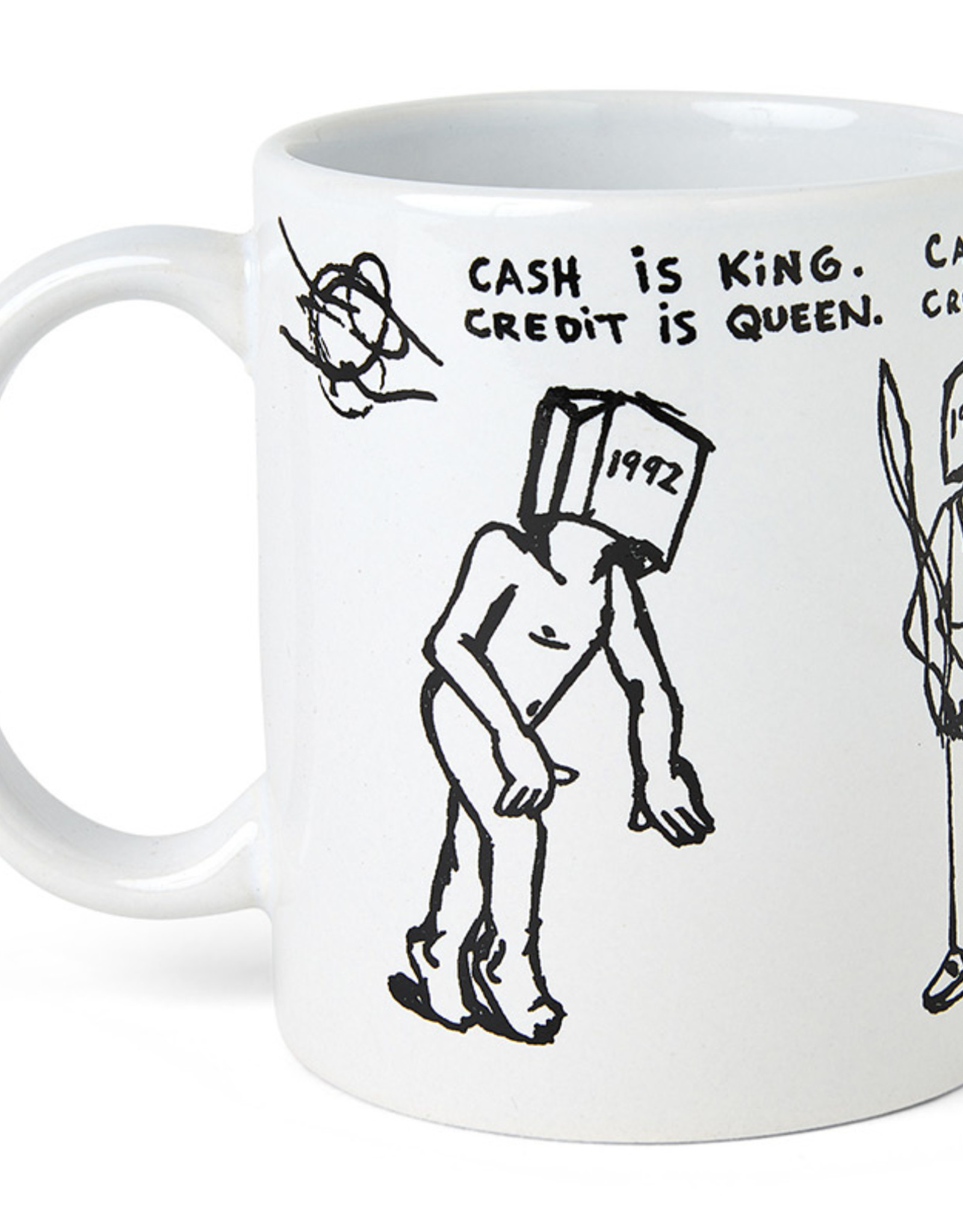 POLAR CASH IS QUEEN COFFEE MUG