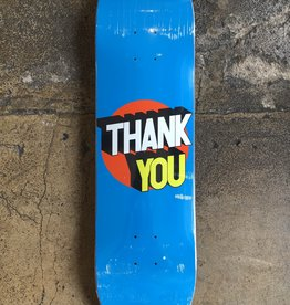 THANK YOU SKATEBOARDING THANK YOU SPOT ON DECK - (ALL SIZES)