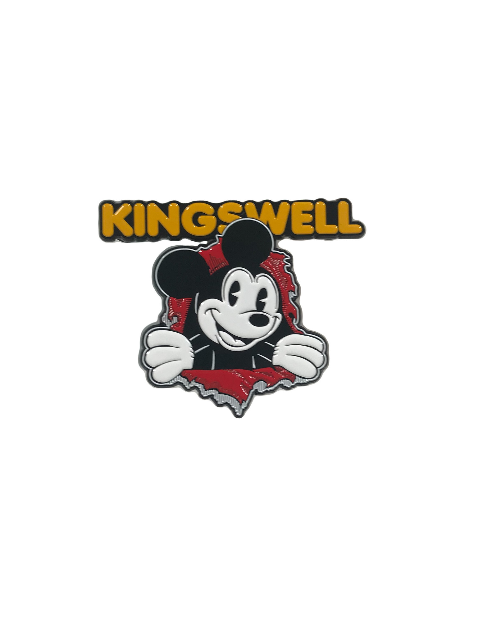 KINGSWELL KINGSWELL MOUSE RIPPER LAPEL PIN