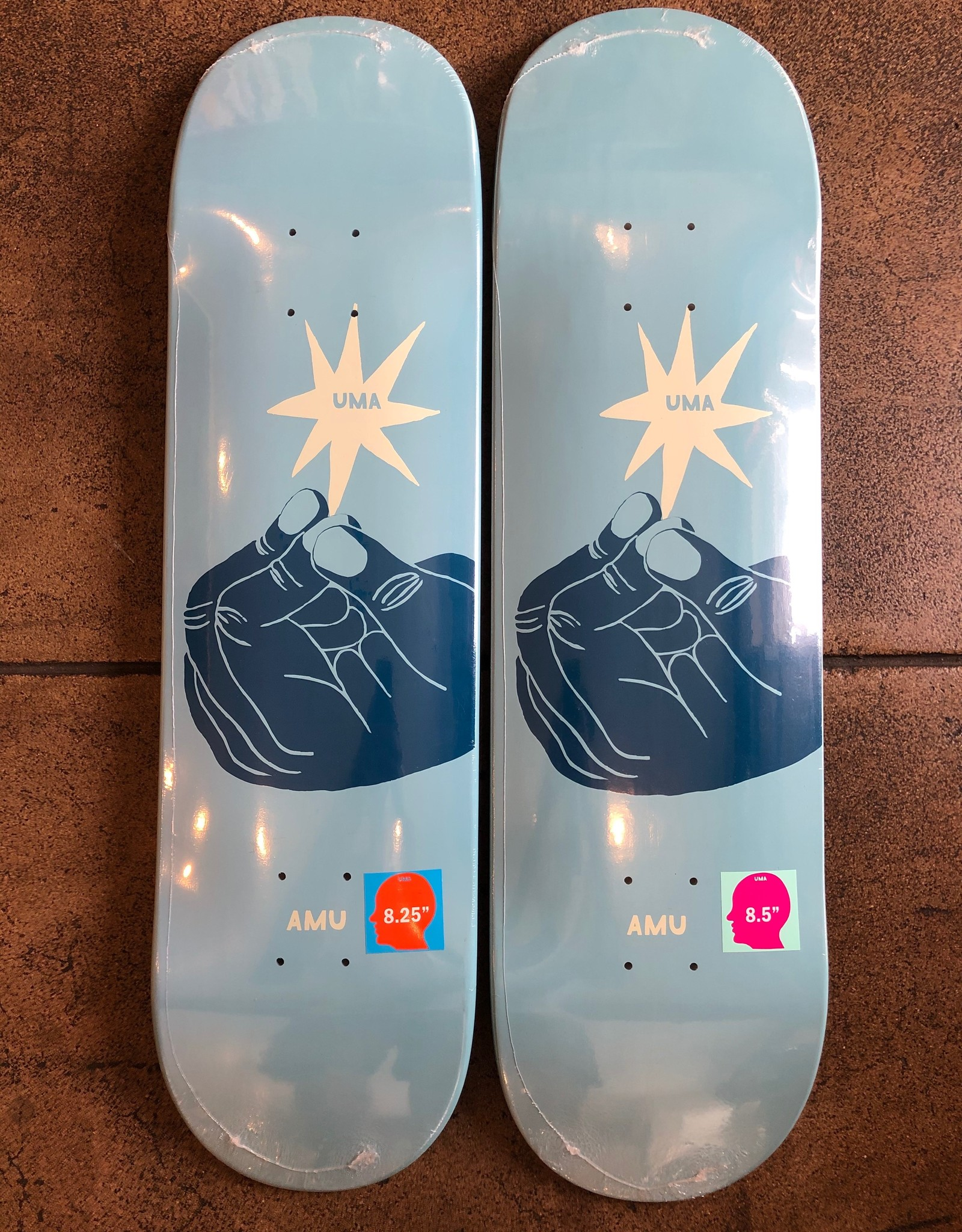 UMA LANDSLEDS UMA WHOISNT DECK - (ALL SIZES)