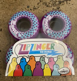 KROOKED ZIP ZINGER WHEEL 80 HD 54 MM - PURPLE