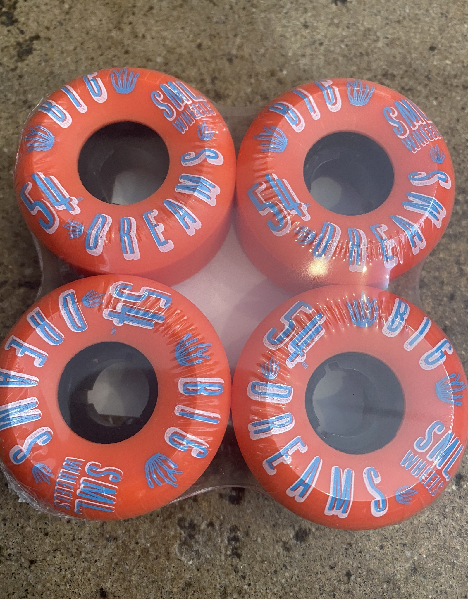 SML SUCCULENT CRUISER V-CUT 92A FIRE WATER BIG DREAMS WHEEL - 54MM