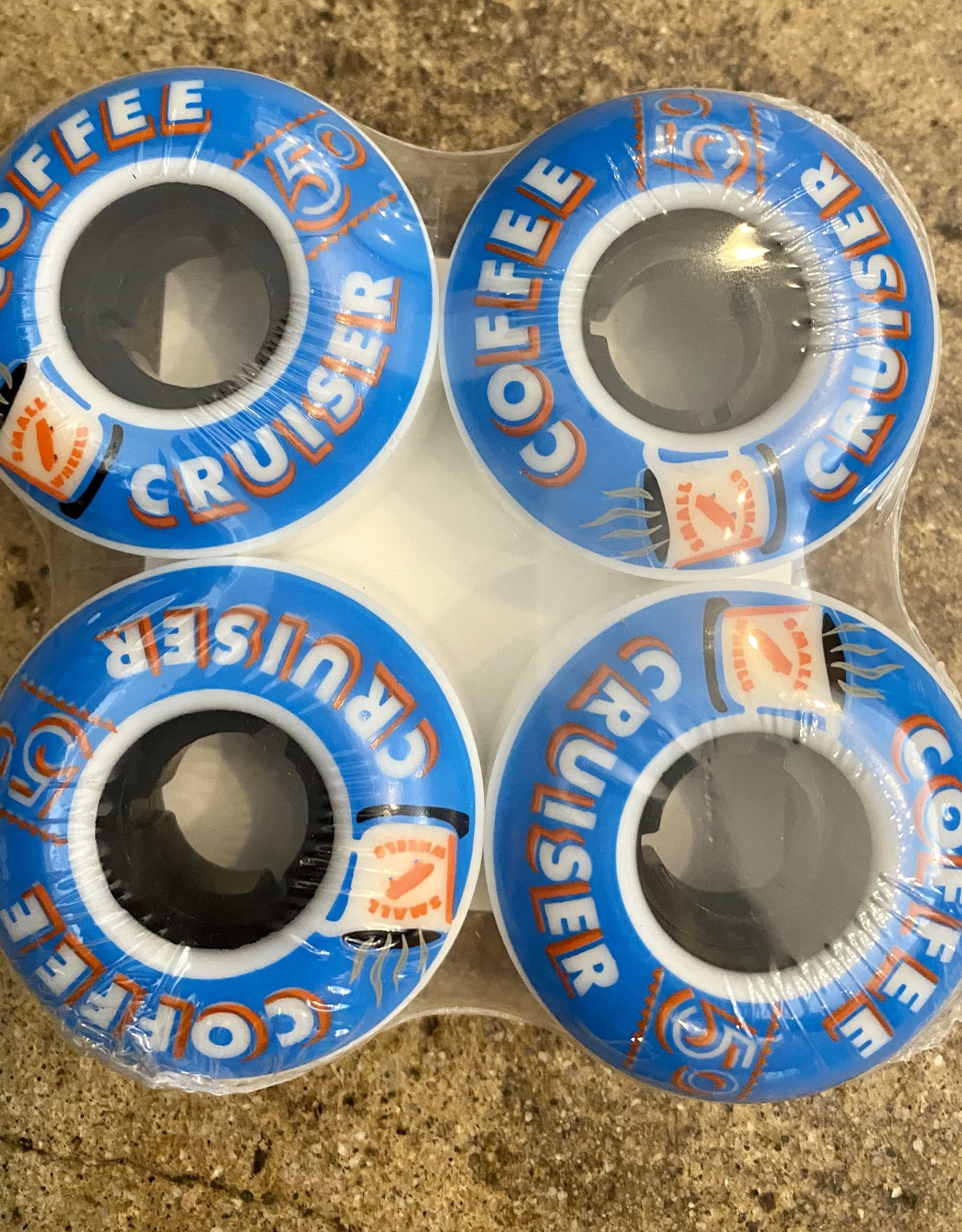 SML COFFEE CRUISER ICE 78A WHEEL BLUE - 50MM