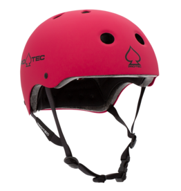 PRO-TEC JR CLASSIC FIT CERTIFIED MATTE PINK HELMET - YOUTH MEDIUM