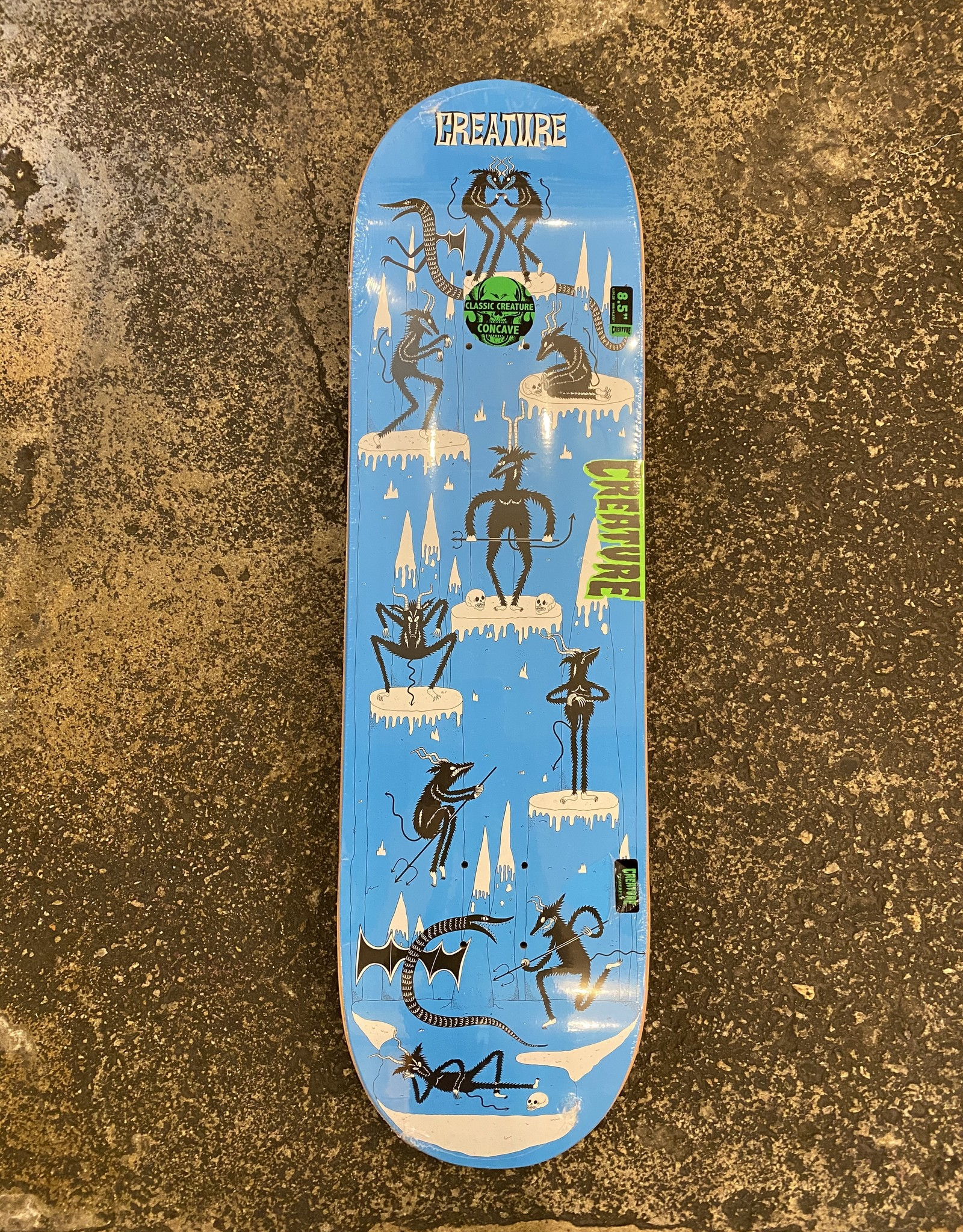 CREATURE CREATURE SKATEBORDS FREE FOR ALL POWERPLY DECK - 8.5