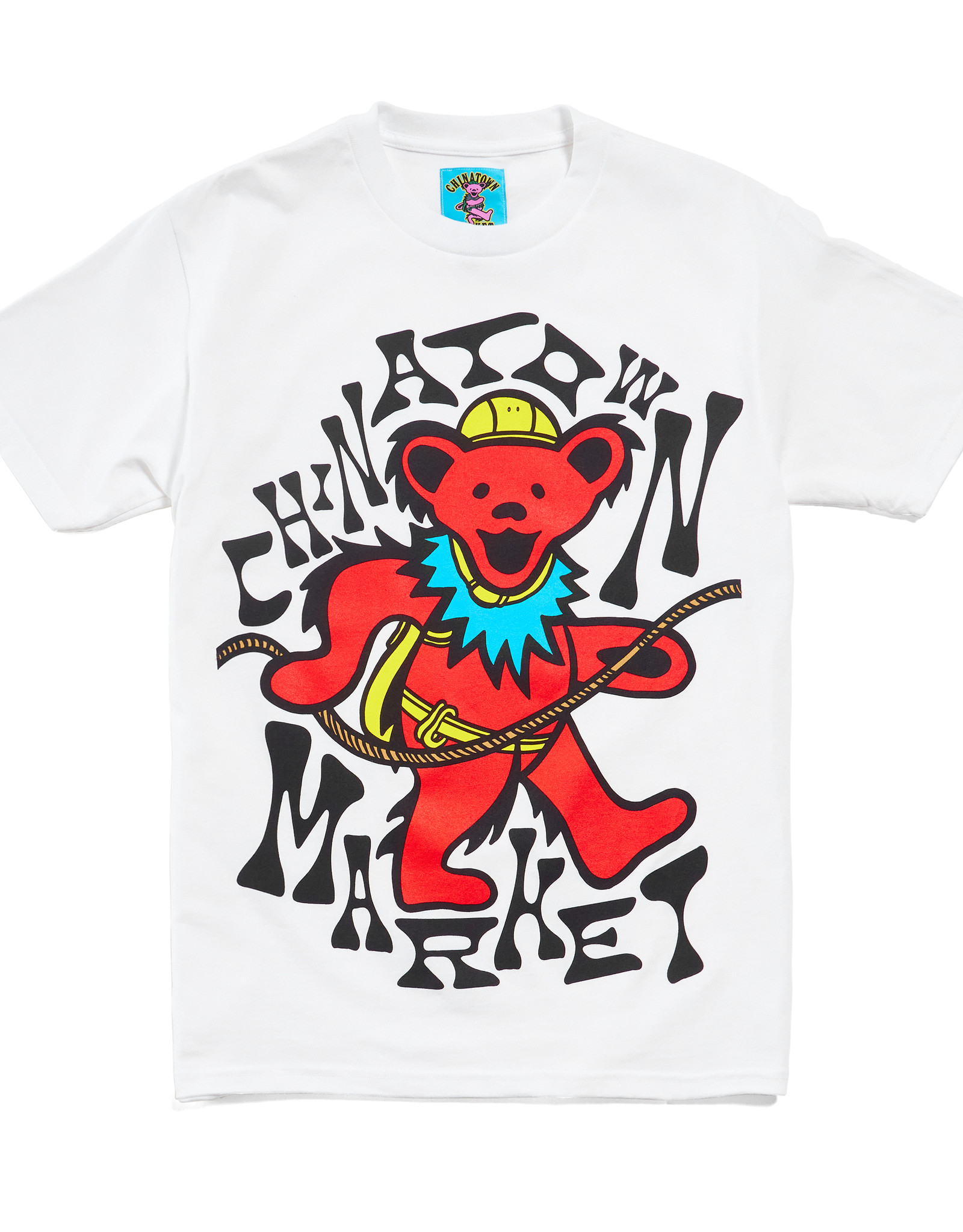 CHINATOWN MARKET CHINATOWN MARKET GD NEW GRASP ON DEATH TEE - WHITE