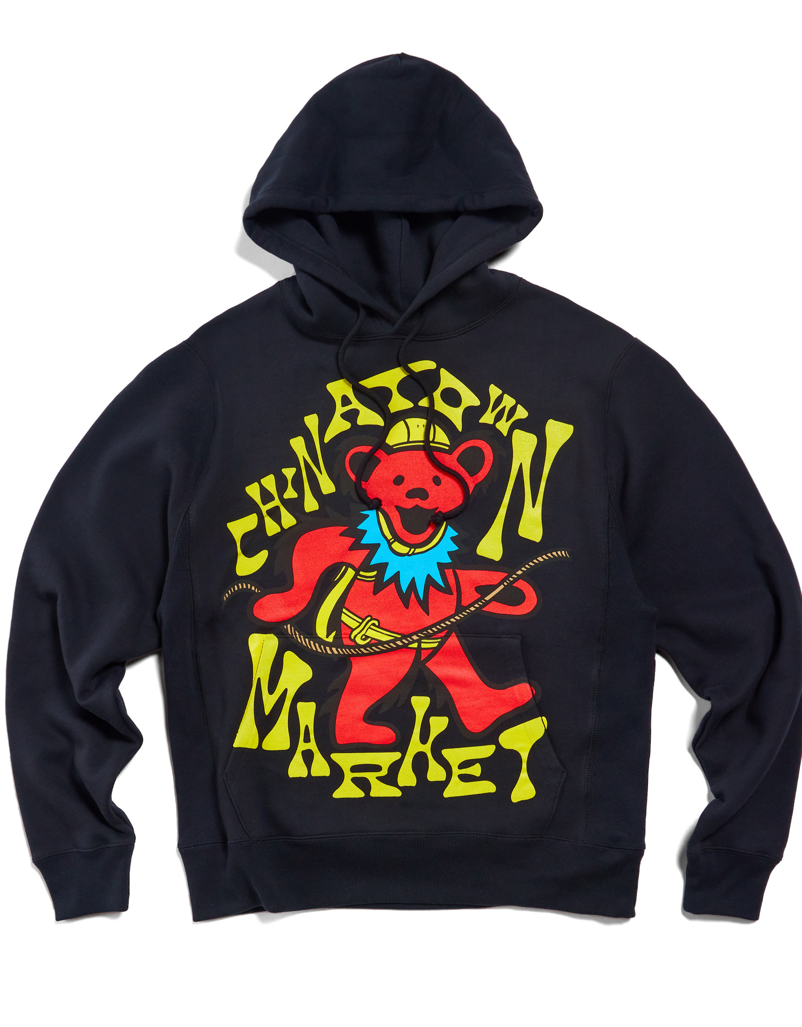 CHINATOWN MARKET CHINATOWN MARKET GD NEW GRASP ON DEATH HOOD - BLACK