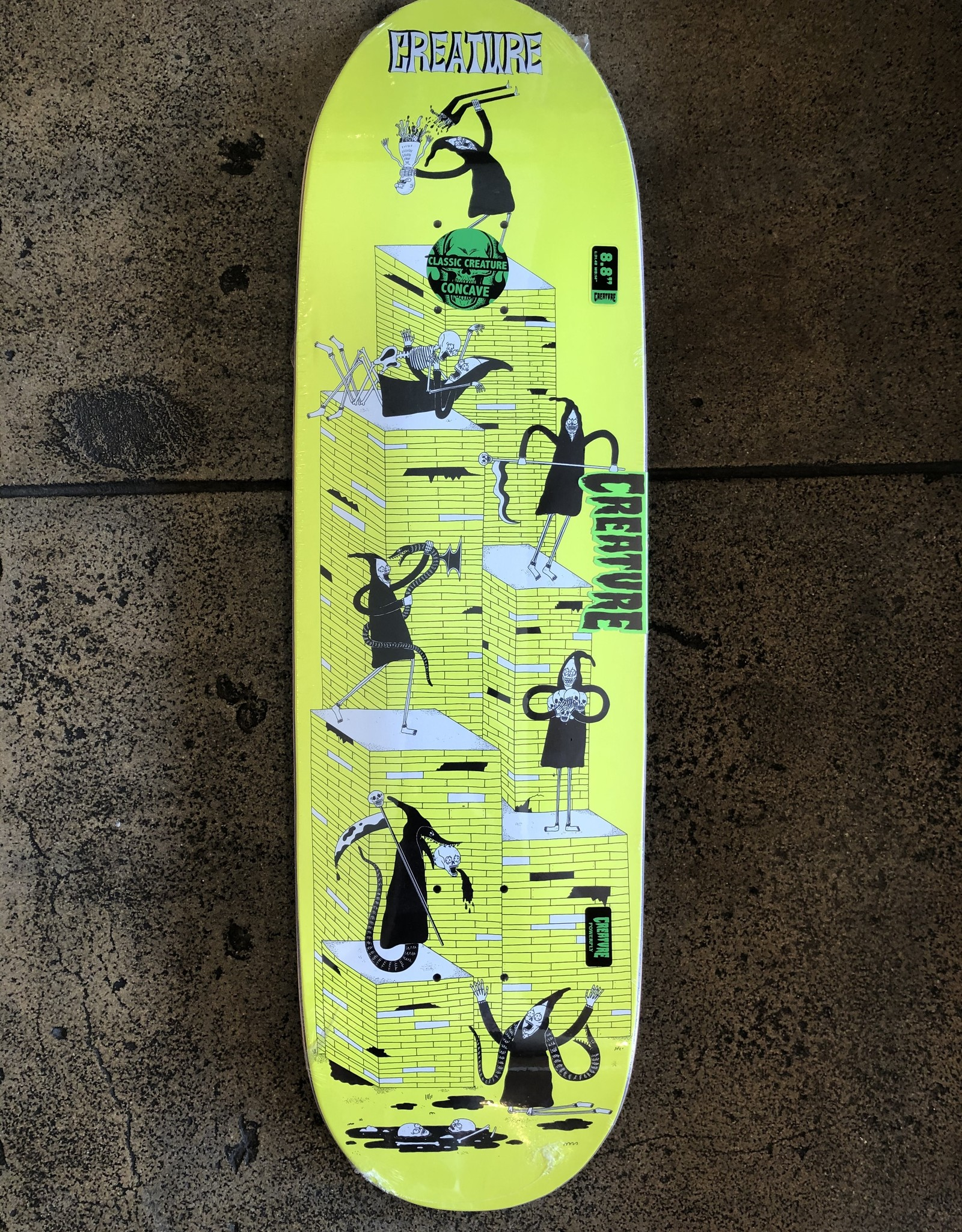 CREATURE CREATURE FREE FOR ALL LG POWERPLY DECK - 8.8