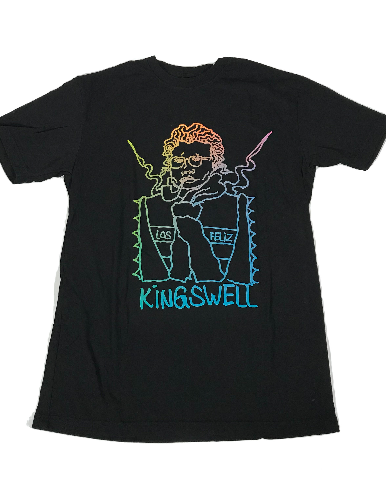 KINGSWELL KINGSWELL GONZ SKETCHY S/S TEE - BLACK