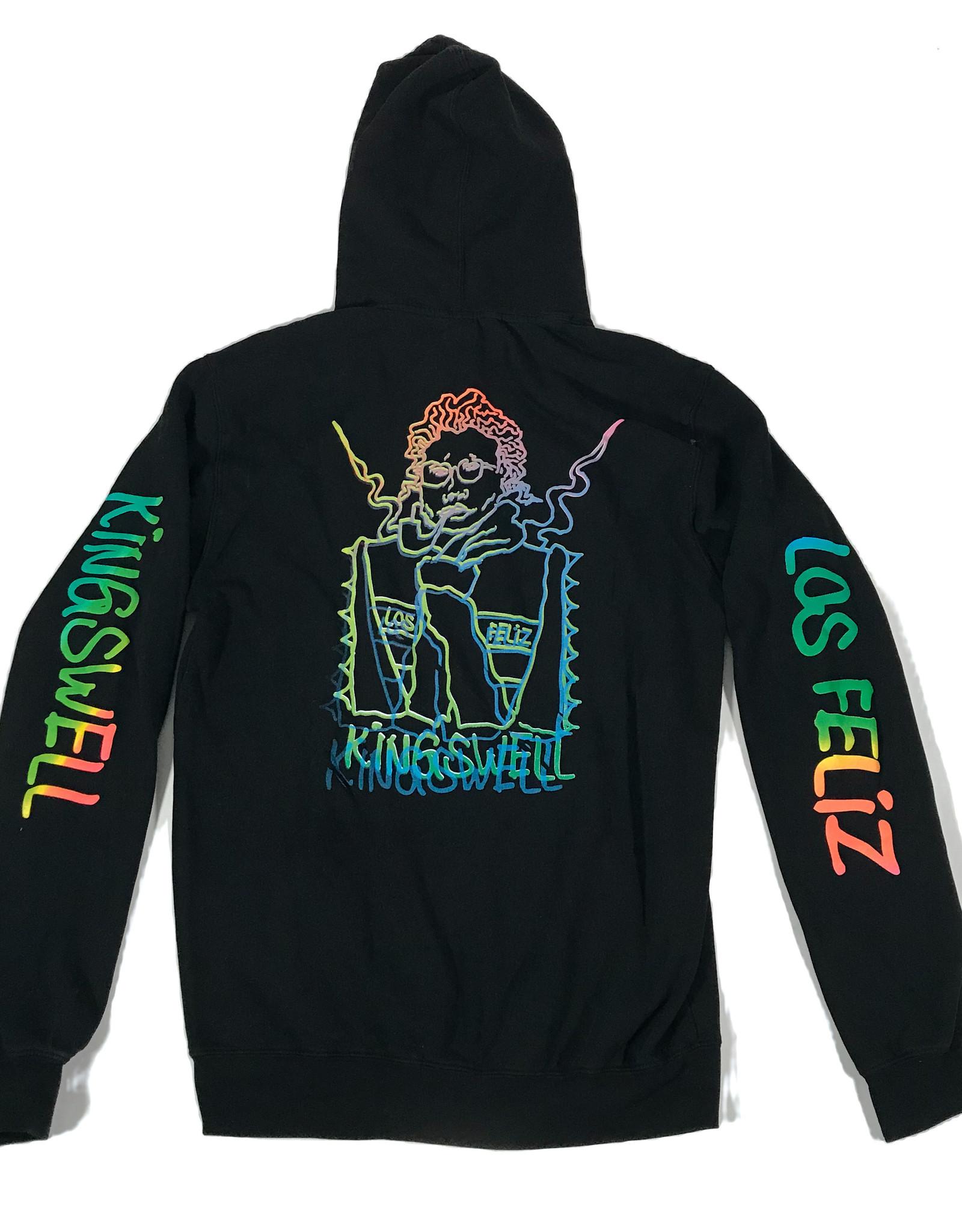 KINGSWELL KINGSWELL GONZ HOODIE  - BLACK