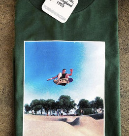 KINGSWELL KINGSWELL X TOBIN YELLAND ED TEMPLETON S/S TEE - HUNTER GREEN
