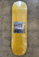 SOUR SKATEBOARDS SOUR BOX LOGO TAPES DECK - 8.5