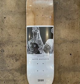 SOUR SKATEBOARDS SOUR KOFFE HELPING HAND DECK - 8.25