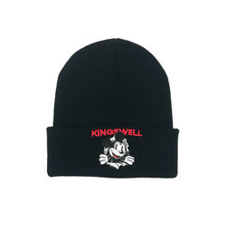 KINGSWELL KINGSWELL MOUSE RIPPER BEANIE - BLACK