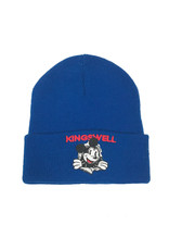 KINGSWELL KINGSWELL MOUSE RIPPER BEANIE - BLUE