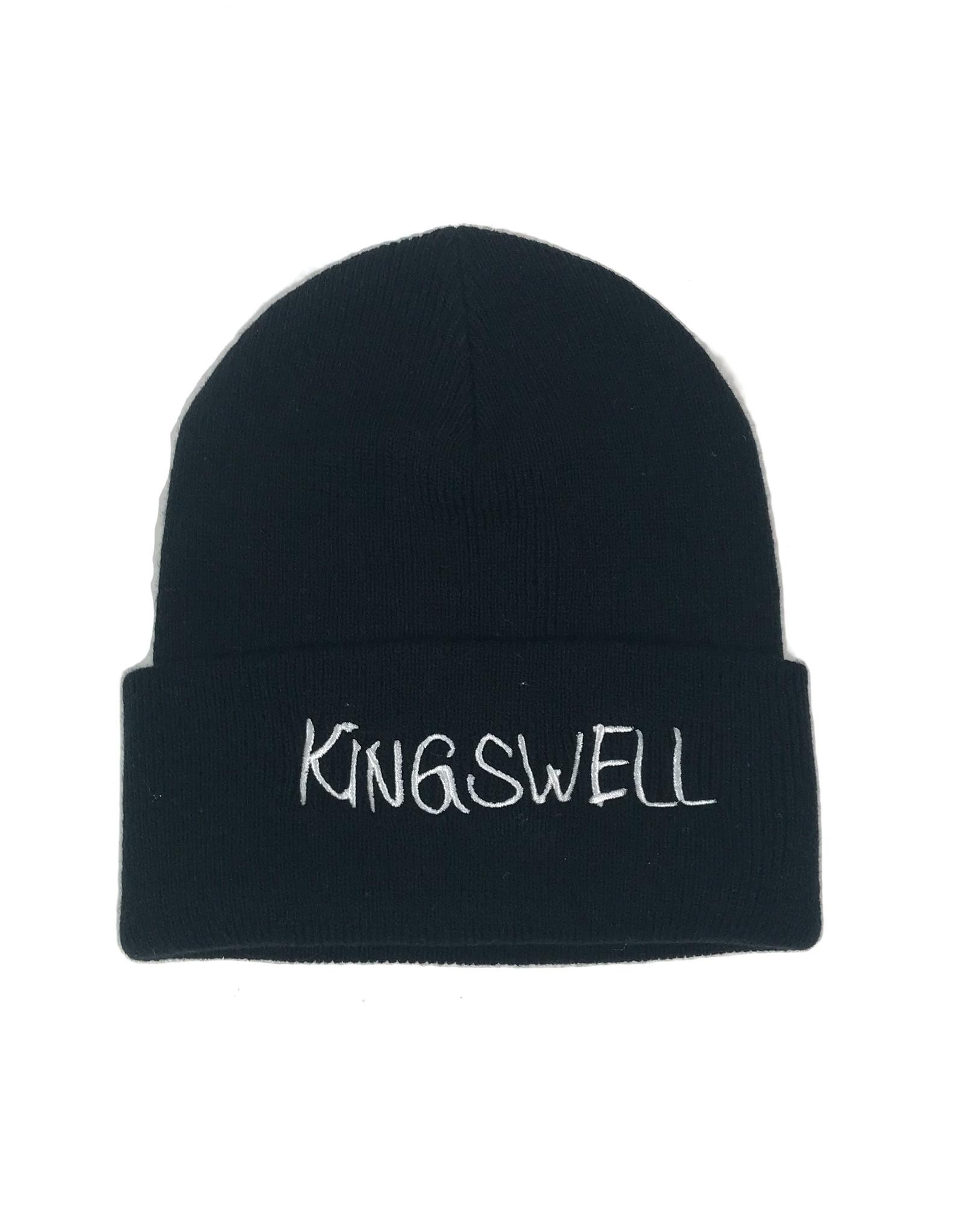 KINGSWELL KINGSWELL GONZ LOGO BEANIE - BLACK