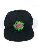 SLIME BALLS SLIME BALLS LOGO STRAPBACK HAT - BLACK