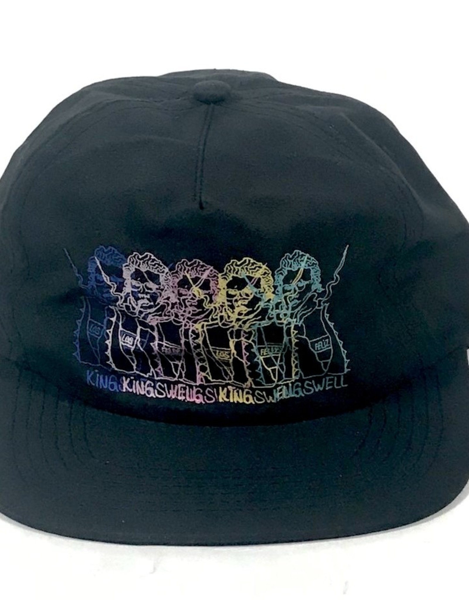KINGSWELL KINGSWELL GONZ PRINT HAT - BLACK