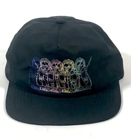 KINGSWELL KINGSWELL GONZ PRINT HAT - BLACK