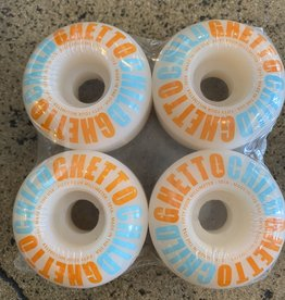 GHETTO CHILD GHETTO CHILD TEAM LOGO ORANGE - 54MM