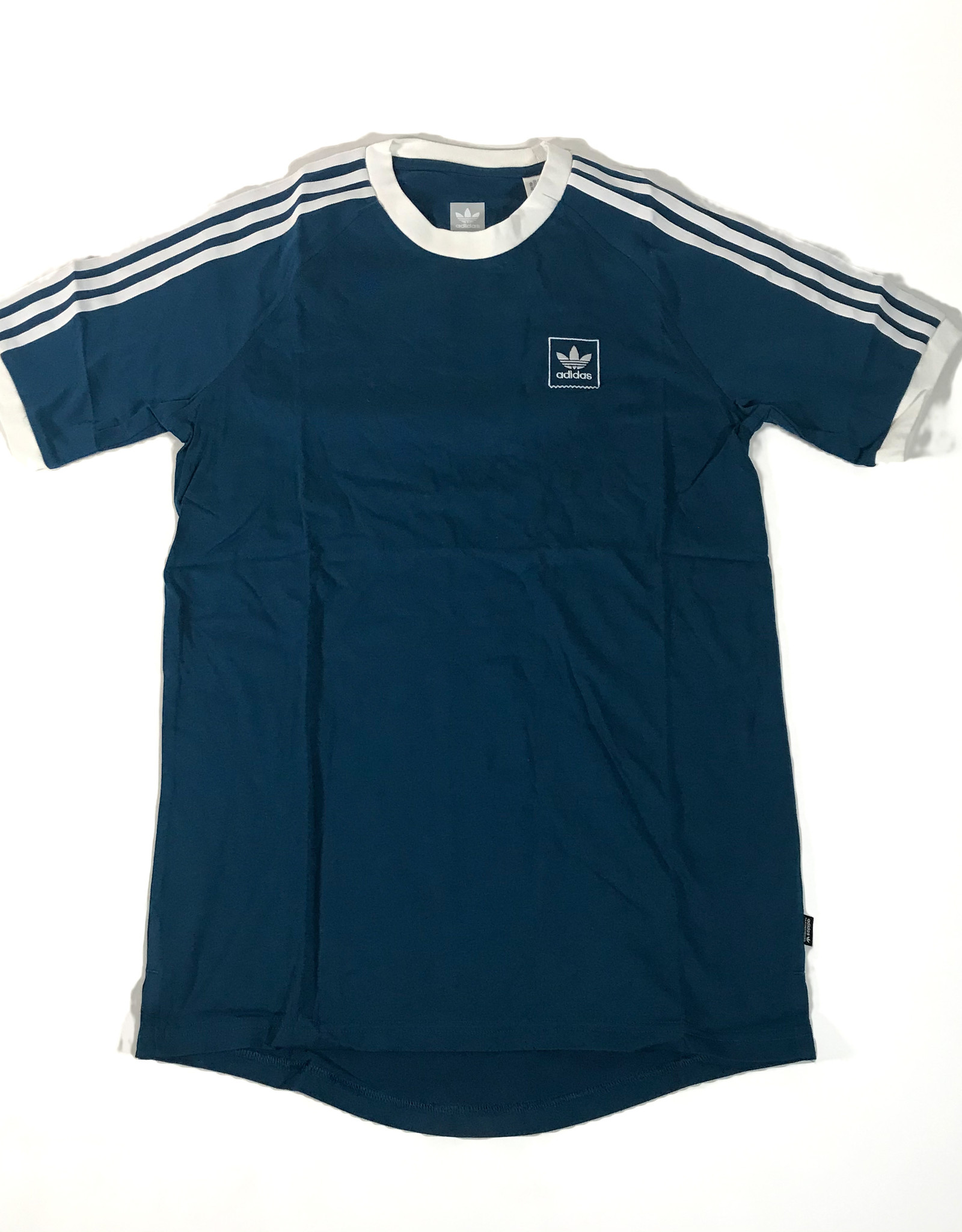 ADIDAS ADIDAS CALI BB T-SHIRT - BLUE/WHITE - SMALL