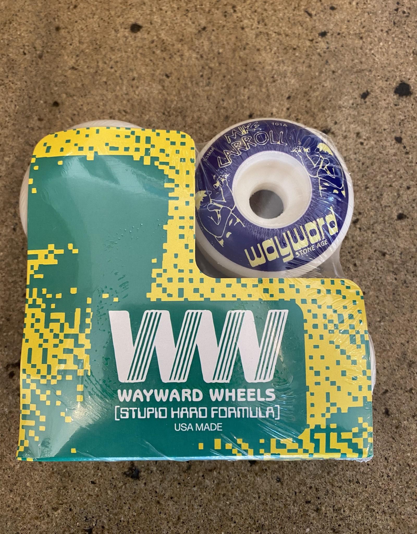 WAYWARD WAYWARD MIKE CARROLL FUNNEL CUT 101 WHEEL - 52MM