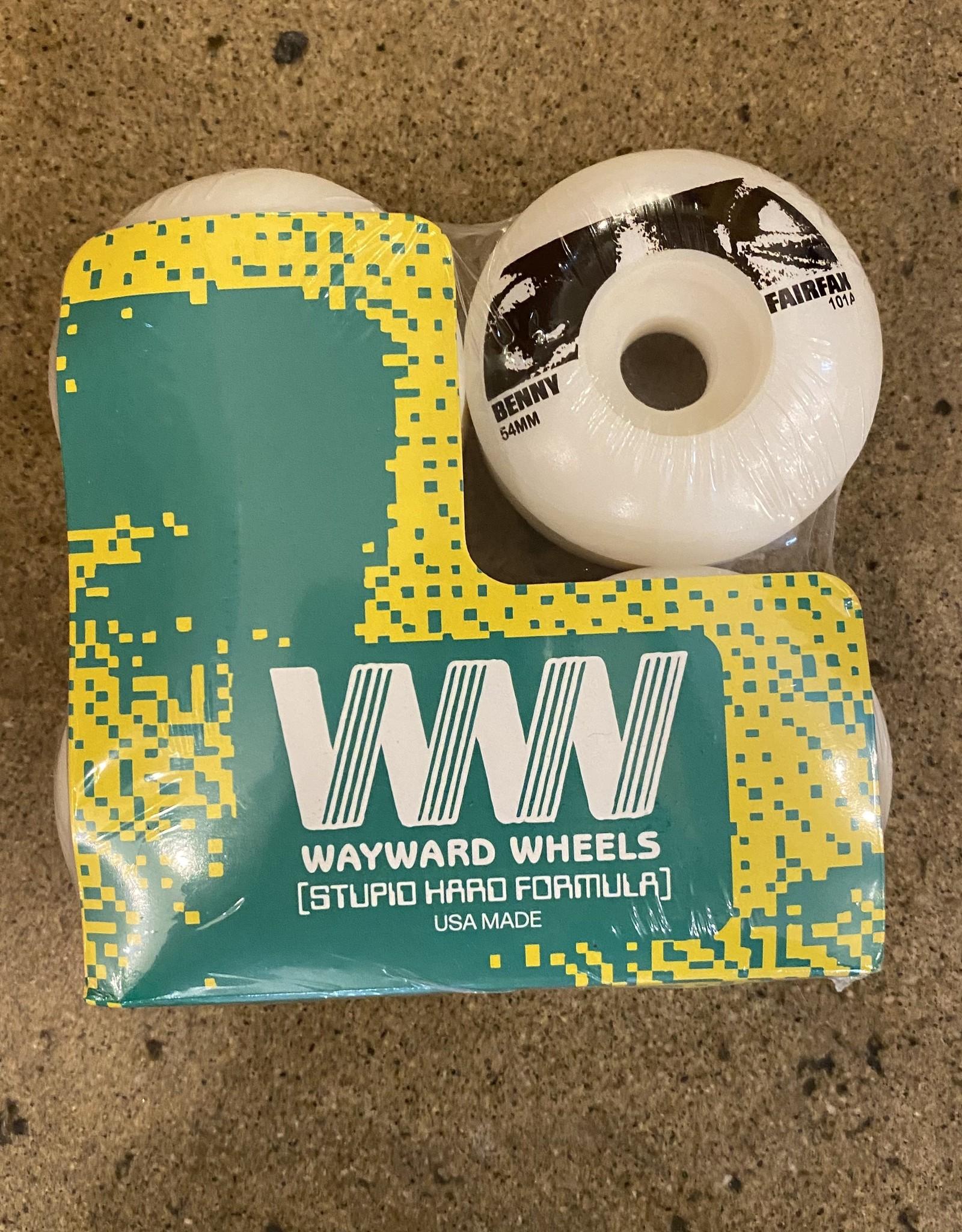 WAYWARD WAYWARD BENY FAIRFAX FUNNEL CUT  CUT WHEEL 101 - 54MM