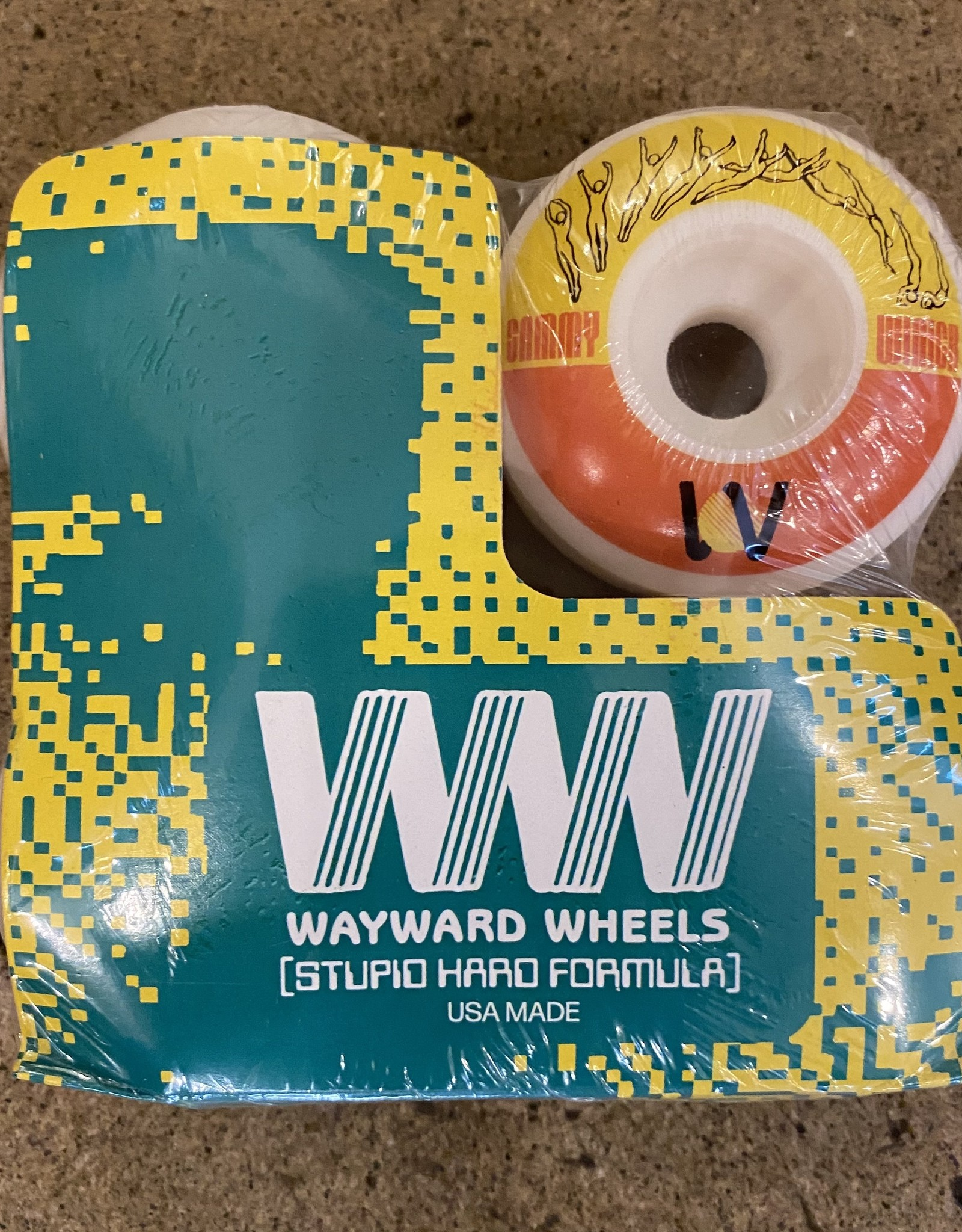 WAYWARD WAYWARD SAMMY WINTER FUNNEL CUT  CUT WHEEL 101 - 53MM