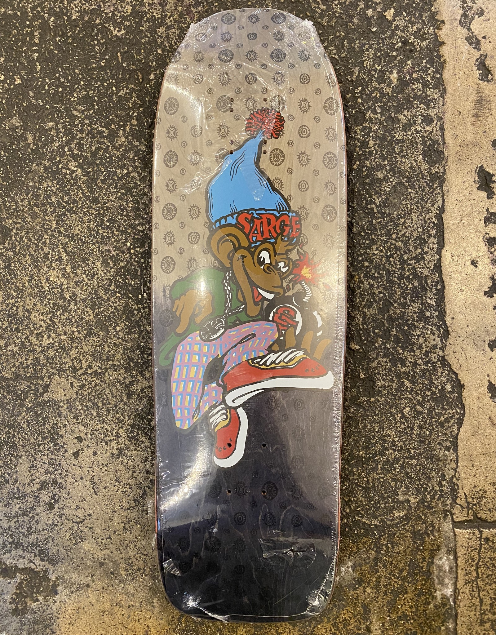 THE NEW DEAL NEW DEAL SARGE DANNY DARGENT (SCREEN PRINT) DECK - 9.625