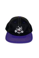 KINGSWELL KINGSWELL MOUSE RIPPER 6 PANEL HAT - PURPLE / BLACK