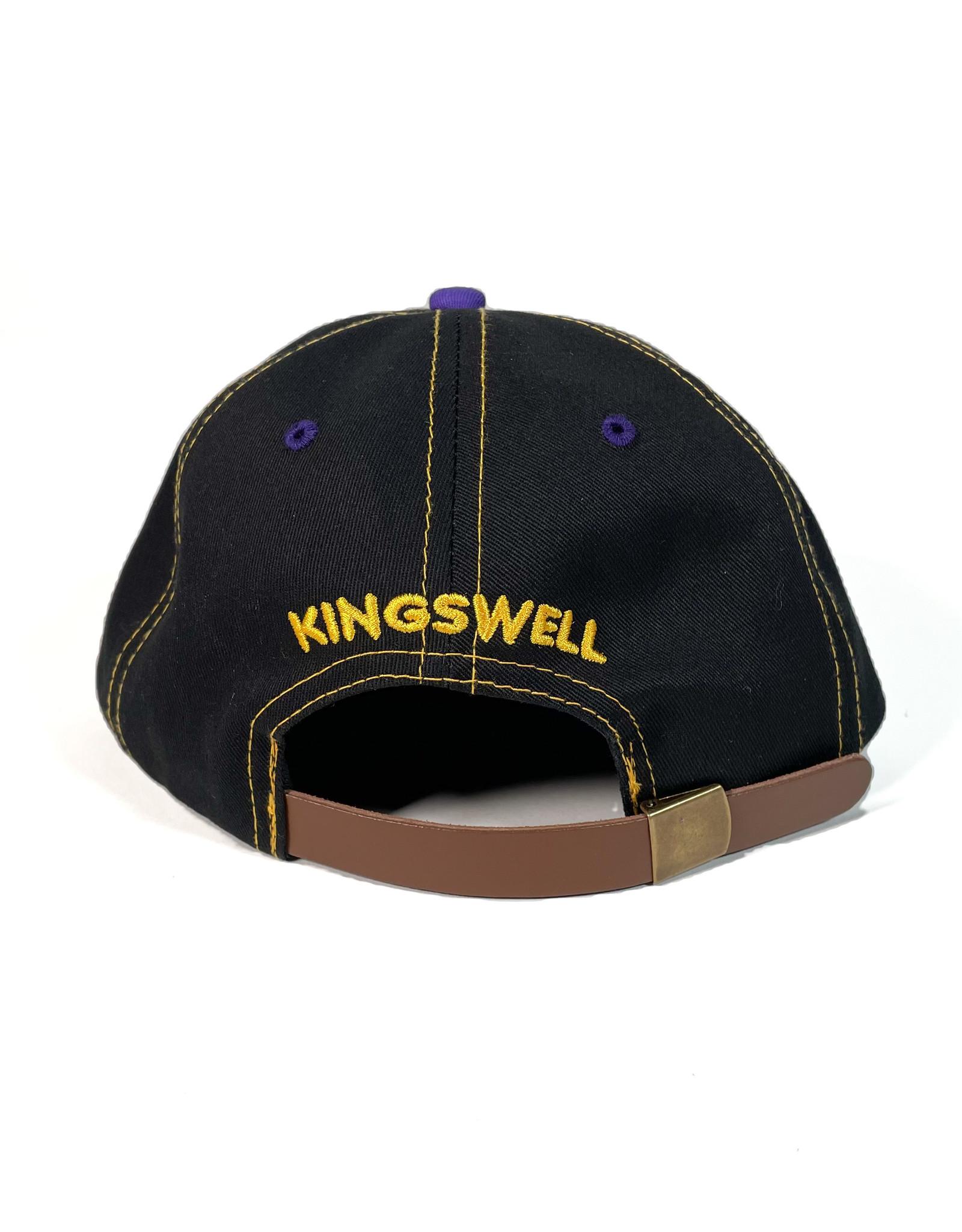 KINGSWELL KINGSWELL MOUSE RIPPER 6 PANEL HAT - PURPLE / BLACK