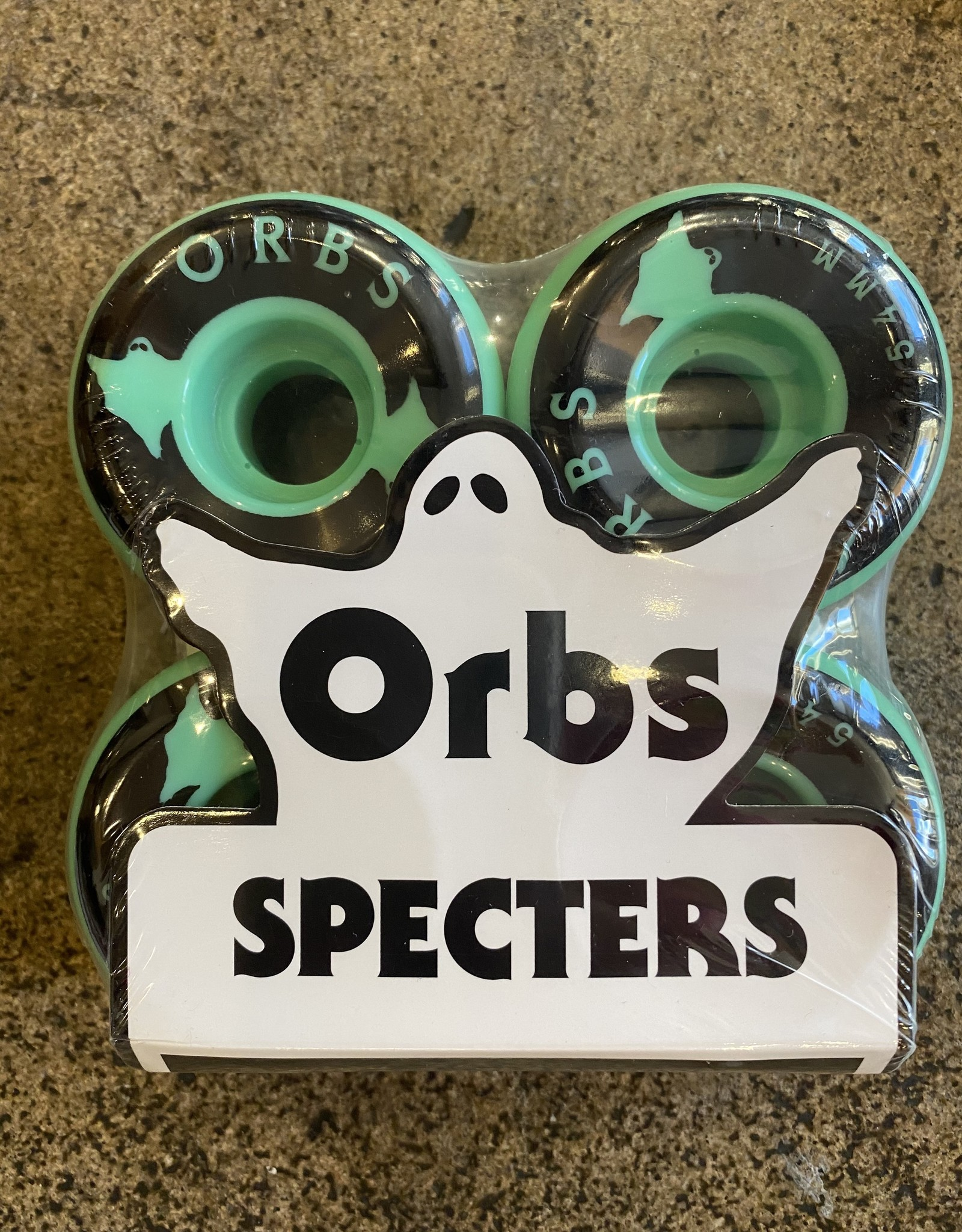 ORBS ORBS SPECTERS GREEN WHEEL 99A - 54MM