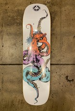 WELCOME SKATEBOARDS WELCOME HORSE ON SEAHORSE DECK WHITE - 8.00