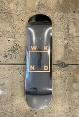 WKND - BLACK LOGO (ASSORTED VENEERS) DECK - 8.5
