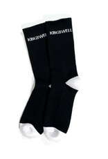 KINGSWELL KINGSWELL LOGO SOCK - BLACK