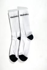 KINGSWELL KINGSWELL LOGO SOCK - WHITE