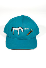 FROG FROG HORSE 5 PANEL HAT - TURQUOISE