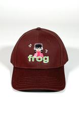 FROG FROG I'M NOT LISTENING 6 PANEL HAT - BROWN