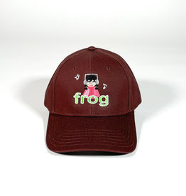 FROG FROG I'M NOT LISTENING 6 PANEL HAT - BROWN