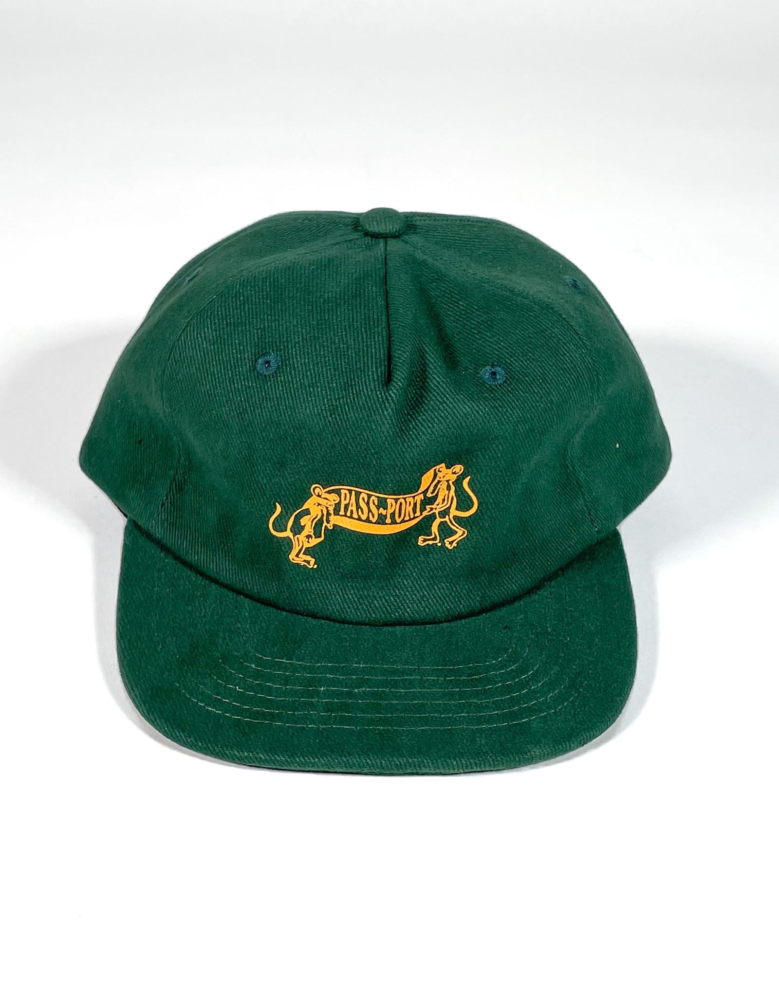 PASSPORT PASS-PORT MISSING TILDE 5 PANNEL HAT - GREEN