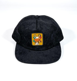 PASSPORT PASS-PORT WITH A FRIEND 5 PANNEL HAT - BLACK