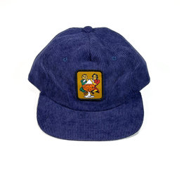 PASSPORT PASS-PORT WITH A FRIEND 5 PANNEL HAT - NAVY