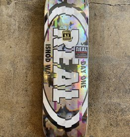 REAL SKATEBOARDS REAL ISHOD GLITCH OVAL DECK - 8.5 FULL
