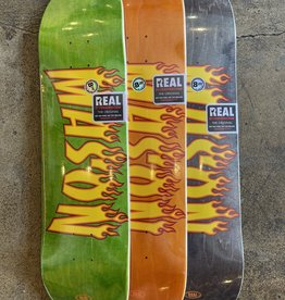 REAL SKATEBOARDS REAL MASON SOTY DECK - (ALL SIZES)