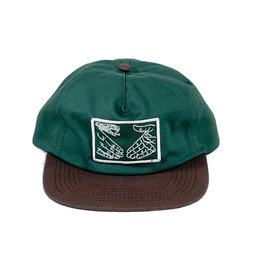 DOOM SAYERS DOOM SAYERS SNAKE SHAKE HAT - GREEN/BROWN
